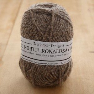 Blacker_North Ronaldsay_Aran_Dark Grey