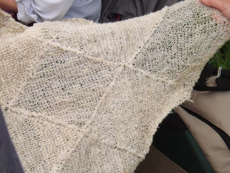 FC - closeup shawl