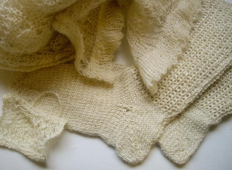 Knitted Wensleydale Julia Desch