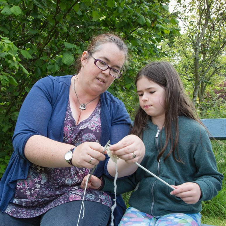 MB - young knitter