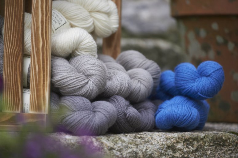 Yarn from the Doulton Flock