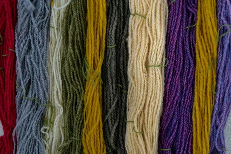 3. Image of colours I dyed