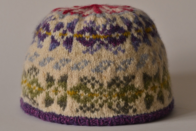 4. Image of completed hat