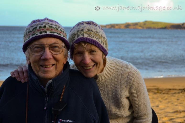 5. Image of hats at Skaw beach