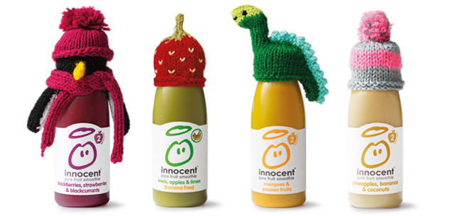 using freely donated knitting to make your product look good is really not so innocent