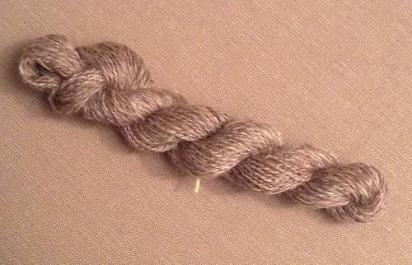BFL spun by Kate Knaggs