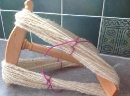 Derbyshire Gritstone spun by Tracey Kurr