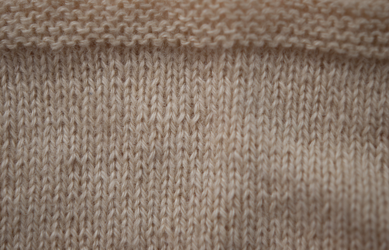 Beautiful crisp stitch definition and a lovely cool translucence with this 3-Ply Pure Wensleydale, Home Farm Wensleydales