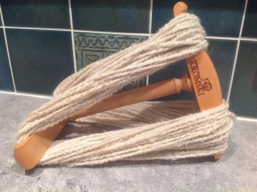 Swaledale spun by Tracey Kurr