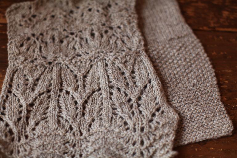 Shetland Clara Yarn, finding its way to becoming lace